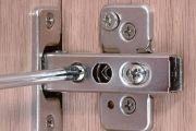 Ρύθμιση μεντεσέδων σε πορτάκια ντουλαπιών