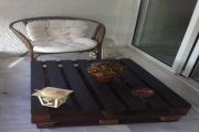 Τραπέζι βεράντας με παλέτα